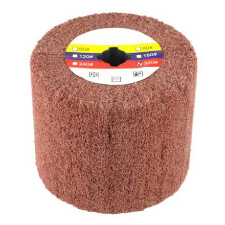 Specialty Diamond AW-320 Elastic Grain Coated Non Woven Nylon Web Wheel (320 Grit) - Fits Hardin HD-5800 Burnisher / Polisher